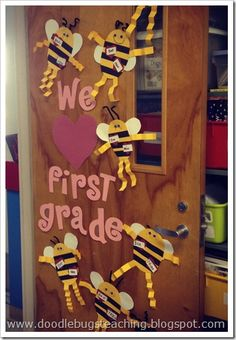 Cute valentine crafts...but I actually just pinned this because of those adorable bees I totally want to make with my class.