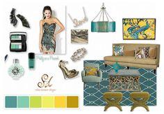 Taking Glam Oscar Style and making it fabulous home decor. #stylestatements #oliolove