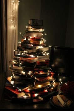 Brilliant and bright holiday decor.