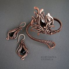 SET by ~KL-WireDream on deviantART  Handmade Jewelry