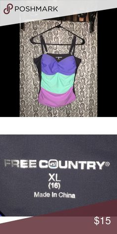 💁🏻✨FREE COUNTRY TANKINI!! 💁🏻✨FREE COUNTRY TANKINI!!                                        ✅Prices are negotiable: Please be considerate due to Poshmark fees. ✅No holds/No Trades ✅Please use offer button ✅No 🅿️🅿️ Free Country Swim