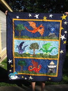 dragon quilt for quilts for kids
