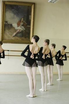 Ballet dancers, Paris.