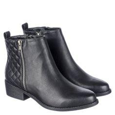a2e661f4fbc7 Shiekh Women s Leather Ankle Boot Smoga