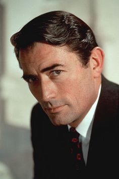 Gregory Peck (1916-2003): Born/raised in La Jolla, CA; an only child whose parents divorced when he was 5 & sent to live with his grandmother. His fondest memories are of her  taking him to the movies every week, and of his dog who followed him everywhere. Grad of UC-Berkley; went to NYC to hone acting skills ('42). Back in CA in '44; quickly becoming a star, esp for To Kill a Mockingbird ('62). Was a liberal Democrat & did much charity work. Married twice, 5 kids. With 2nd wife 48 yrs.