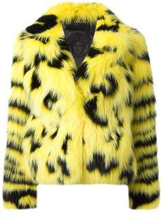 Versace  Fur  Jacket.