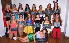 halloween costumes grupal halloween co Girl Group Halloween Costumes, Disney Princess Halloween Costumes, Halloween Outfits, Woman Costumes, Couple Costumes, Pirate Costumes, Couple Halloween, Adult Costumes, Disney Group Costumes