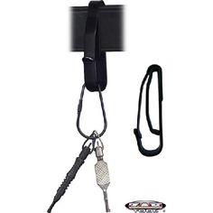 KEY RING BELT HOLDER - BLACK