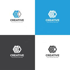 The creative corporate logo design template is in EPS file format, created with Adobe Illustrator. The logo template is ideal for corporate companies and personal use. Letterhead Template, Logo Design Template, Brochure Template, Logo Templates, Corporate Logo Design, Business Branding, Creative Logo, Communication Process, Learning Logo