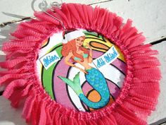 Mine, All Mine - Mermaid Collage Ornament - OOAK Hand Crafted Christmas Decoration. $12.00, via Etsy.