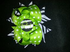 NEW Stacked bows with initials or Cute Centers for only $8.00
