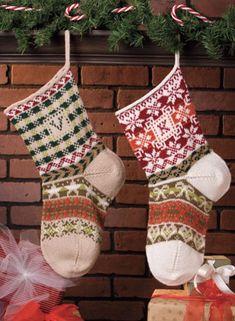 Hearthwarming Stocking Pattern