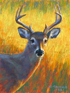 Rita Kirkman - I love her pastel work - and especially this subject!