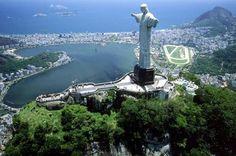 Cristo Redentor Rio De Janeiro Brazil Panorama