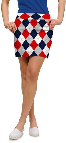 Loudmouth Golf Womens Skorts: Dixie - Size 2 97% cotton / 3% spandex. Logo on inner lining.  #LoudmouthGolf #SingleDetailPageMisc
