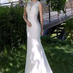 A231 vintage bridal bride sleeveless white lace wedding dresses country western vestido de noiva robe de mariage wedding gowns