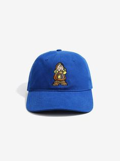 d0edca435ff Disney Beauty And The Beast Cogsworth Dad Hat - BoxLunch Exclusive.  Cogsworth is pretty ...