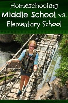 Homeschooling Middle School versus Elementary School - 3 main differences I've found between the two. @EducationPossible