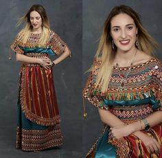 Robe De Maison, Belle Robe, Robe De Soirée, Robe Kabyle Moderne, Robe  Traditionnelle Algérienne, Robe Berbere, Tenue Orientale, Robe Caftan,  Modele Hijab
