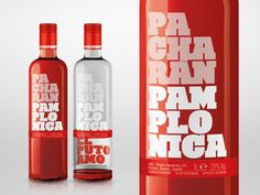 """Licores Baines reinvents the traditional world of its most famous liquor with Pacharán Pamplonica, a new drink targeting young people that provides a visual challenge on finishing the bottle: the special proposal appears on the inside of the rear label, 'El Puto Amo'."""