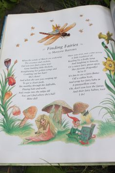 Finding Fairies - by Marjorie Barrows, illustrated by Garth Williams - from The Golden Books Treasury of Elves and Fairies, Garth Williams