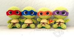 [Free Pattern] It's A Ninja Turtles Party! Cowabunga!