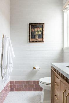The McGee Home: Wren's Room Photo Tour - Studio McGee Studio Mcgee, Inspiration Design, Bathroom Inspiration, Room Photo, Home Design, Mug Design, Home Living, Home Interior, Interior Plants