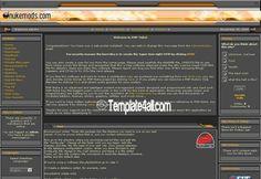 Phpnuke Themes - Black Php Nuke Template #phpnuke #black #phpnukethemes