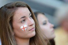 Las fans de la Euro: hoy, Inglesas y francesas