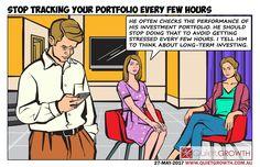 Cartoon 36: Stop tracking your portfolio every few hours