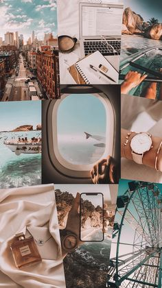 Iphone Wallpaper Tumblr Aesthetic, Iphone Background Wallpaper, Aesthetic Pastel Wallpaper, Aesthetic Backgrounds, Aesthetic Wallpapers, Collage Background, Photo Wall Collage, Cute Patterns Wallpaper, Pretty Wallpapers