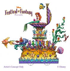 Disney World is Holding Auditions for the New Festival of Fantasy Parade