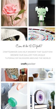 Visit our Pinterest Gallery at https://www.pinterest.com/craftgawker/.  Username: craftgawker