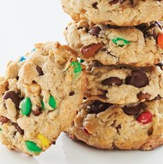 Our Nutty Coconut Chocolate Drop Cookie from Seasons is a monster of a cookie. It's got everything - even 2 kinds of M&Ms.