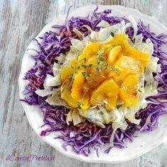 Raw Food Recipes, Italian Recipes, Salad Recipes, Vegetarian Recipes, Cooking Recipes, Healthy Recipes, Vegetable Salad, Vegetable Side Dishes, Weird Food
