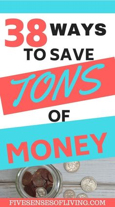 38 Simple Ways To Start Saving Money Every Day. Are you wondering how to save money on a limited income? Do you want to increase your savings and pay off debt? Check out these smart and easy tips to start saving more money today. #finances #savemoney #personalfinance #finances Save Money On Groceries, Ways To Save Money, Money Tips, Money Saving Tips, Money Hacks, Mad Money, Money Fast, Money Saving Challenge, Savings Plan