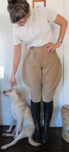 Vintage Women's Jodhpur Breeches by DeluxeFashionShop on Etsy, 52.00