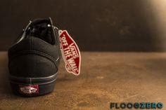 Vans black floorzero store