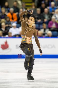 Florent Amodio (FRA) - 2014 Skate Canada LP © Danielle Earl