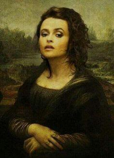 HBC as Mona Lisa