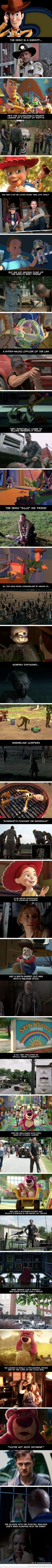 @Cassie Roberts Proof That The Walking Dead And Toy Story Have The Exact Same Plot
