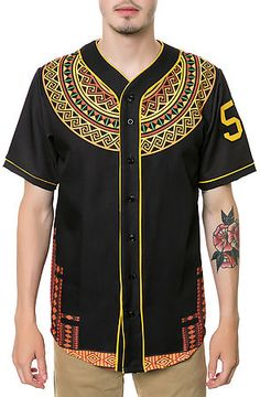 Karmaloop LATHC The Dashiki Jersey Black