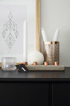 Interior & Copper #decoration