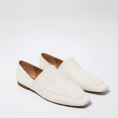 FLAT LEATHER SHOES-Flats-SHOES-WOMAN | ZARA United States
