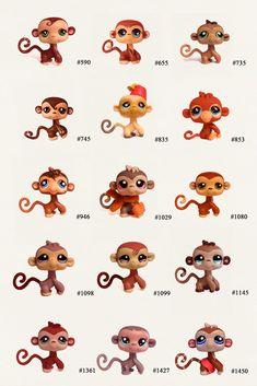 Nicole`s LPS blog - Littlest Pet Shop: Pets: Monkey