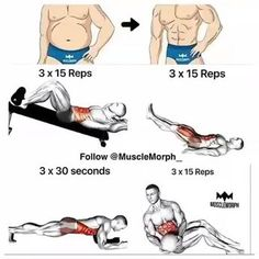 """The most important factor for improving cardiorespiratory fitness (cardio or CR) is the intensity of the workout. Changes in CR fitness are directly related to how """"hard"""" an aerobic exercise is performed. Fitness Workouts, Fitness Motivation, At Home Workouts, Fitness Tips, Health Fitness, Cardio Workouts, Fitness Studio Training, Workout Bauch, Abdominal Exercises"""