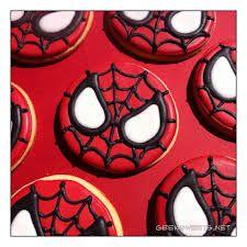 Resultado de imagen para como decorar coquis de hombre araña