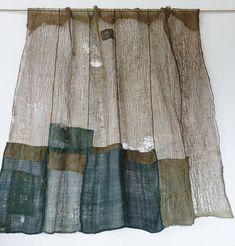 Japanese Antique Textile Boro Asa Kaya Cloth Mosquito Net