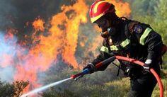 Πυρκαγιά στα Νέα Ρούματα(Χανιά-Κρήτη)