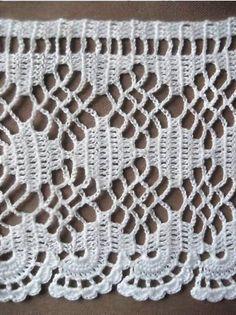 Ideas para el hogar: 22 Modelos de puntillas en crochet